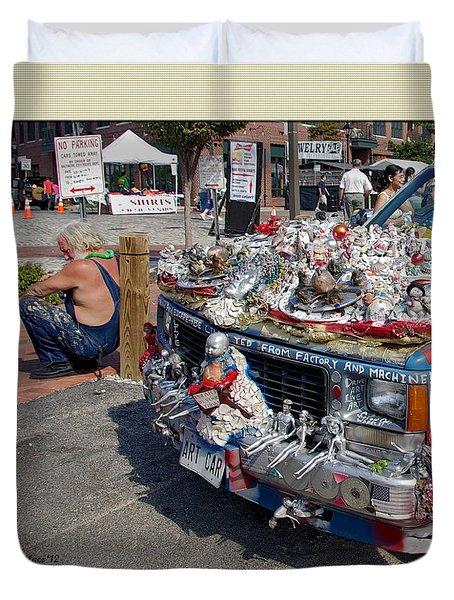 Art Car Duvet Cover by Brian Wallace