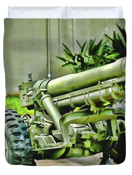 Artillery Duvet Cover by Cheryl Young