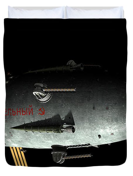 Artists Concept Of An Orion-drive Duvet Cover by Rhys Taylor