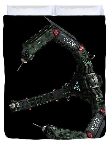 Artists Concept Of The Assimilators Duvet Cover by Rhys Taylor
