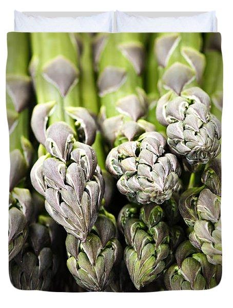 Asparagus Duvet Cover by Elena Elisseeva
