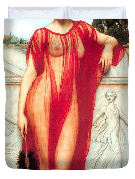 Athenais Duvet Cover by Sumit Mehndiratta