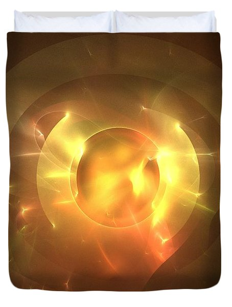 Auge Duvet Cover by Kim Sy Ok