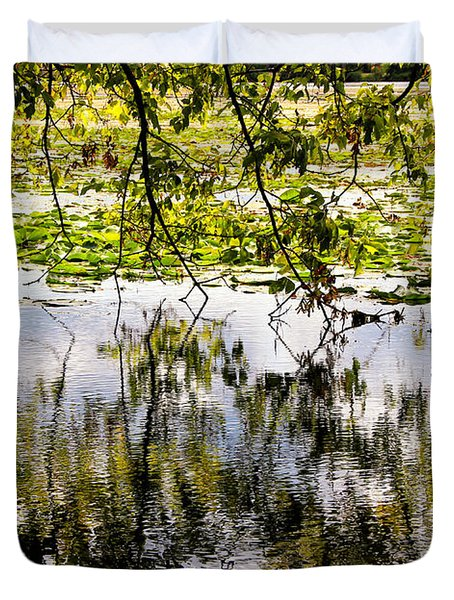 August Reflections Duvet Cover by Rachel Cohen