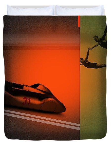 Autounion Duvet Cover by Naxart Studio