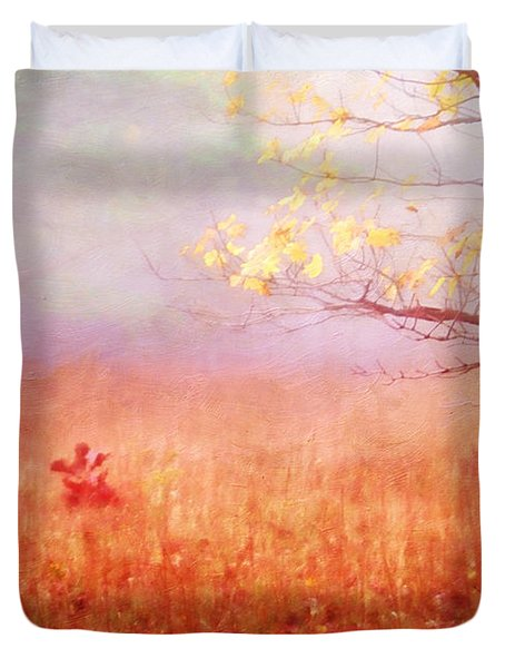 Autumn Dreams Duvet Cover by Darren Fisher