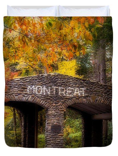 Autumn Gate Duvet Cover by Joye Ardyn Durham