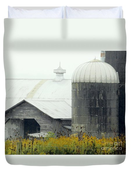 Autumn Rain Duvet Cover by Joe Jake Pratt