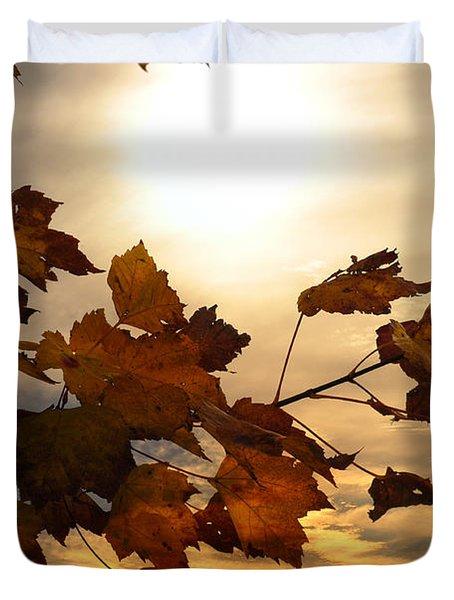 Autumn Splendor Duvet Cover by Bill Cannon