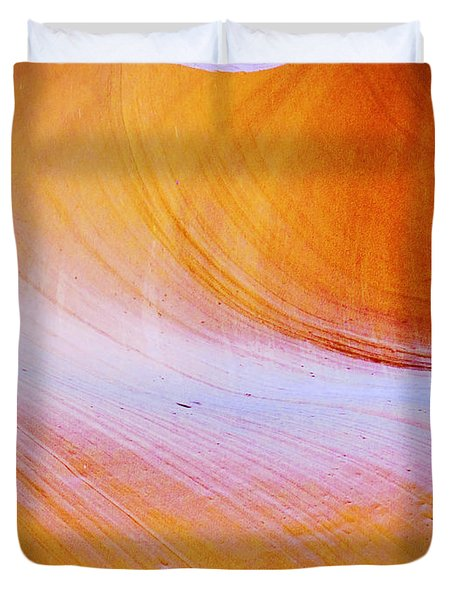 Awe-inspiring Antelope Canyon Duvet Cover by Christine Till