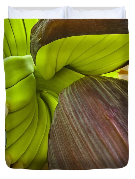 Baby Bananas Duvet Cover by Heiko Koehrer-Wagner
