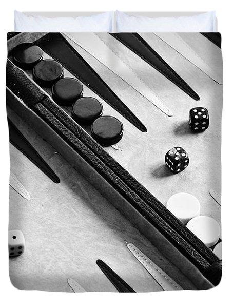 Backgammon Duvet Cover by Joana Kruse