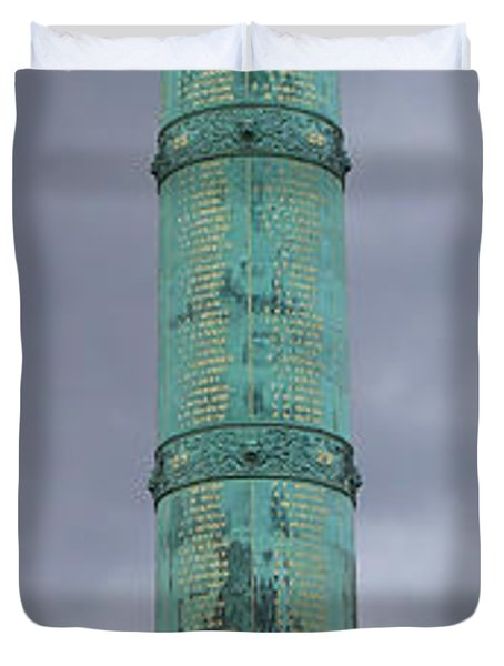 Bastille Paris Duvet Cover by Andrew Fare