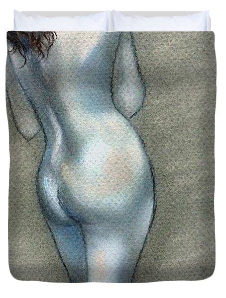 Bath Time Duvet Cover by Julie Brugh Riffey