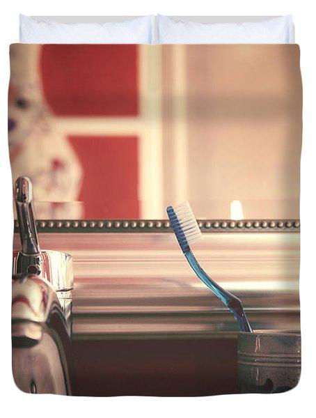Bathroom Duvet Cover by Joana Kruse