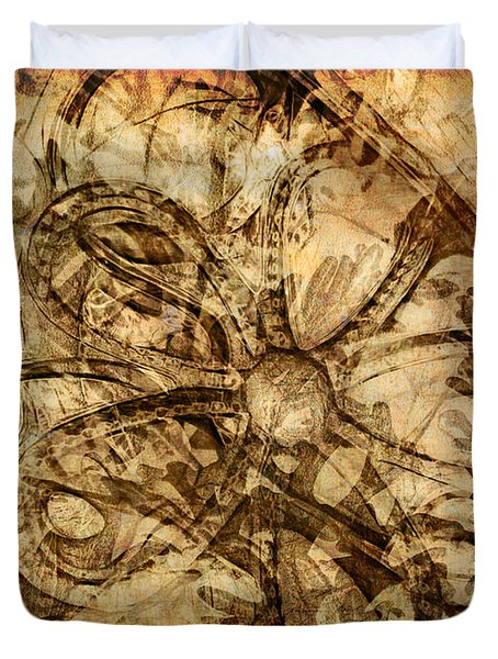 Baubles Duvet Cover by Judi Bagwell