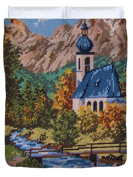 Bavarian Country Duvet Cover by M and L Creations Craft Boutique