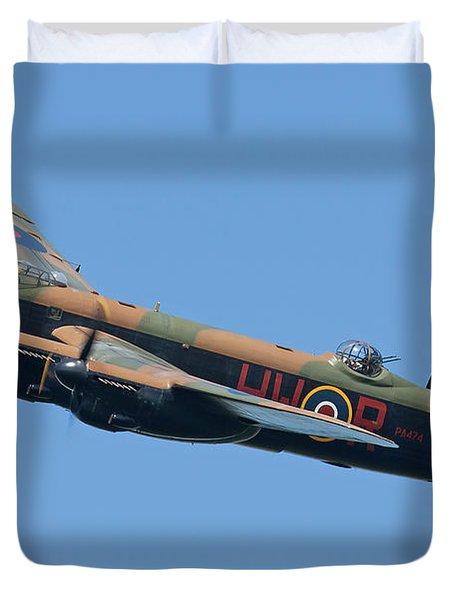 Bbmf Lancaster Bomber 2 Duvet Cover by Ken Brannen
