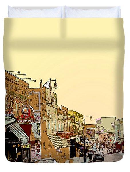 Beale Street Duvet Cover by Barry Jones