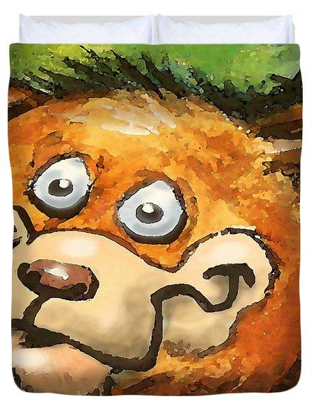 Bear Duvet Cover by Kevin Middleton