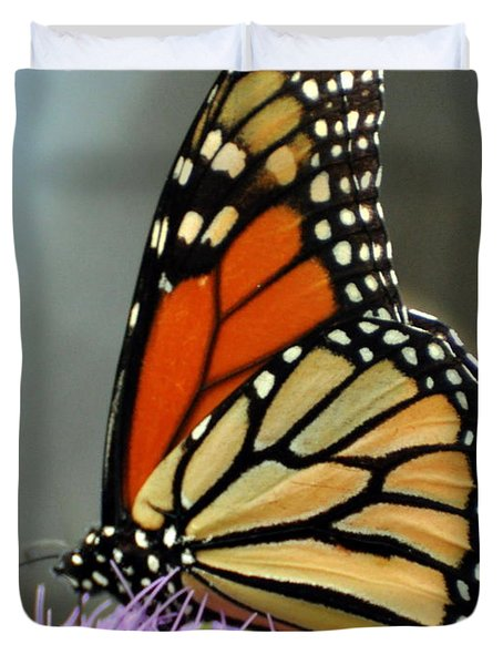 Beautiful Monarch Duvet Cover by Marty Koch