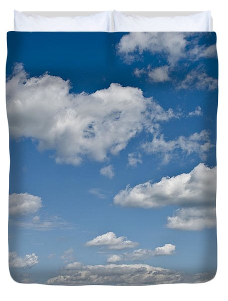 Beautiful Skies Duvet Cover by Bill Cannon