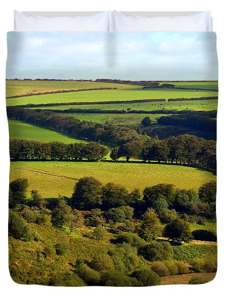 Beautiful Somerset Duvet Cover by Carla Parris