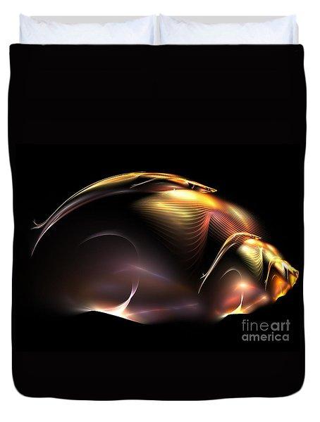 Beetle Duvet Cover by Kim Sy Ok