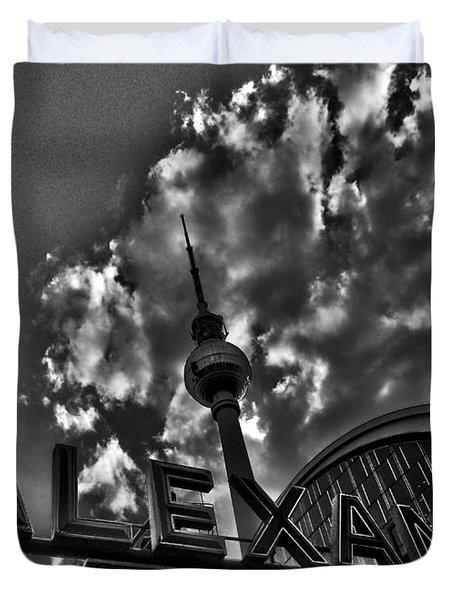 Berlin Alexanderplatz Duvet Cover by Juergen Weiss