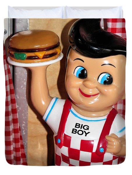 Big Boy Duvet Cover by Kristin Elmquist