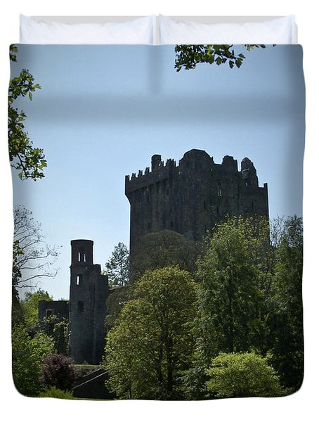 Blarney Castle Ireland Duvet Cover by Teresa Mucha
