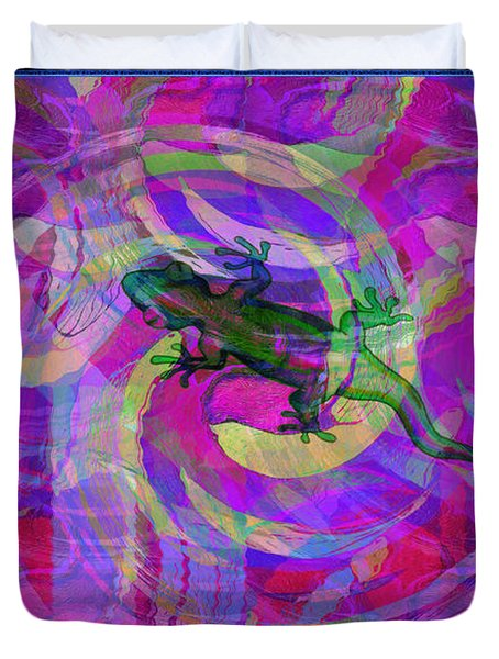 Blending In Duvet Cover by Bill Cannon
