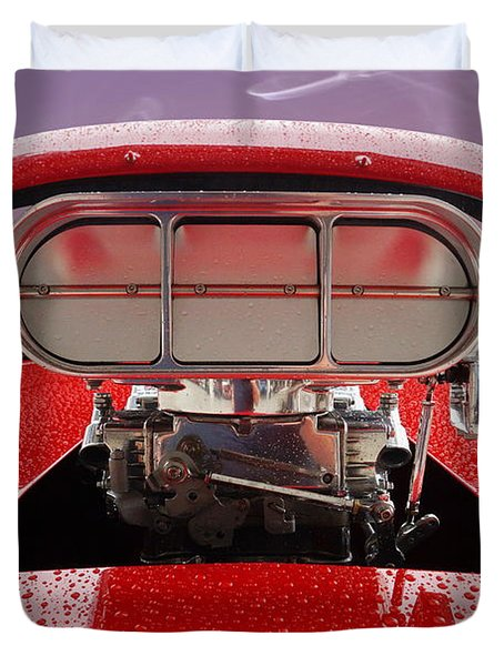 Blown Duvet Cover by Alan Hutchins