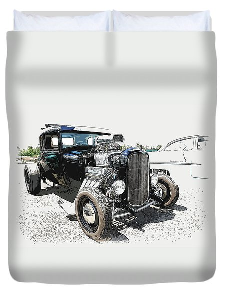 Blown Coupe Duvet Cover by Steve McKinzie