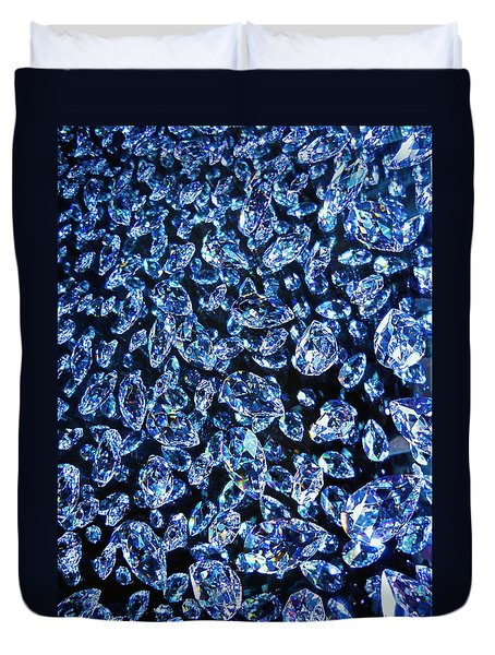 Blue ... Duvet Cover by Juergen Weiss