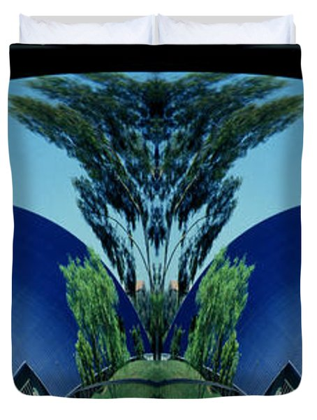 Blue Arches Duvet Cover by Paul W Faust -  Impressions of Light