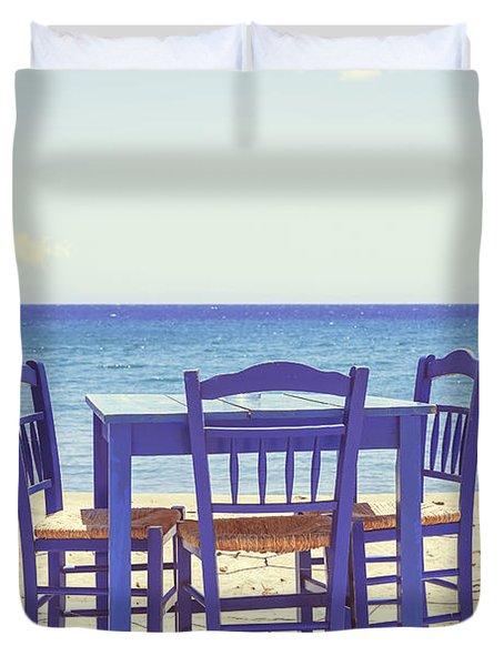 Blue Duvet Cover by Joana Kruse