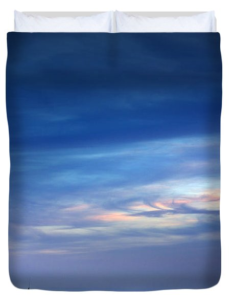 Blue Storm Duvet Cover by Carlos Caetano