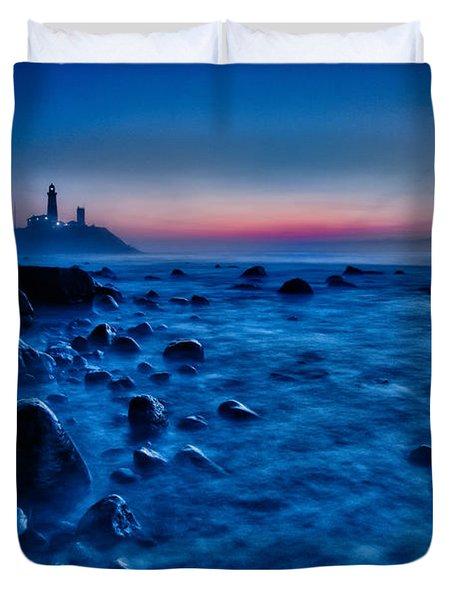 Blue Tide Duvet Cover by Rick Berk