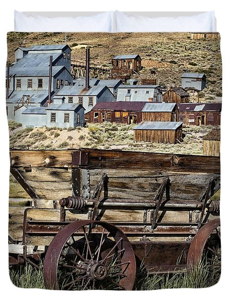 Bodie Wagon Duvet Cover by Kelley King