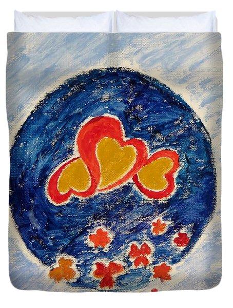 Bonding Duvet Cover by Sonali Gangane