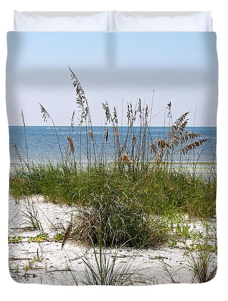 Bonita Beach Duvet Cover by Carol  Bradley
