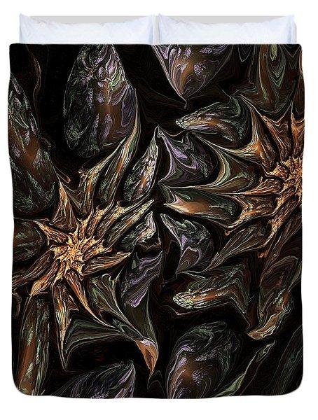 Botanical Fantasy 123011 Duvet Cover by David Lane