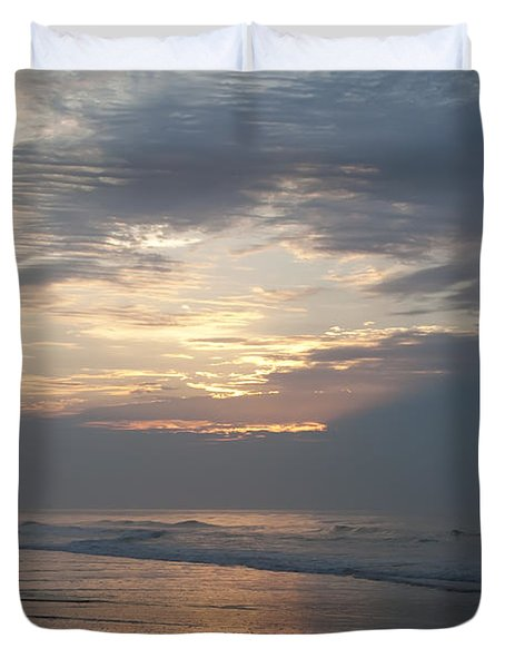 Breaking Through Duvet Cover by Bill Cannon