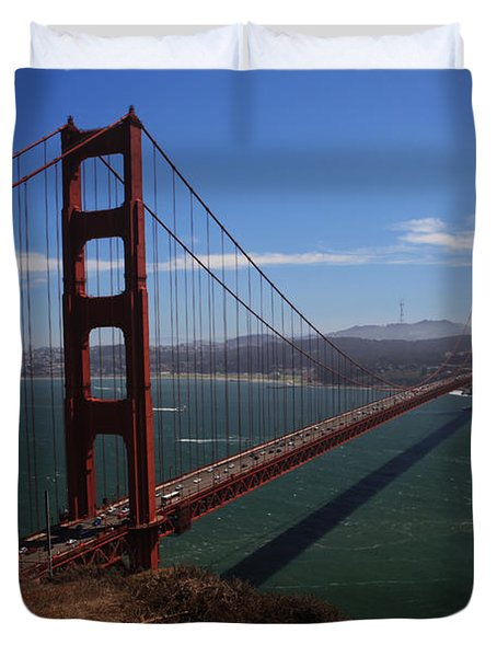 Bridge Of Dreams Duvet Cover by Laurie Search