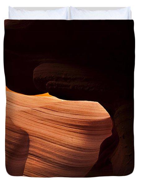 Bridge Of The Light Duvet Cover by Mike  Dawson