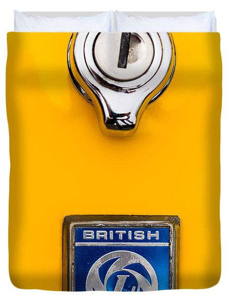 British Leyland Duvet Cover by Jerry Fornarotto