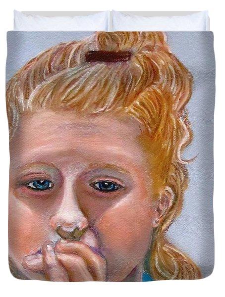 Broken Hearted Duvet Cover by Carol Allen Anfinsen
