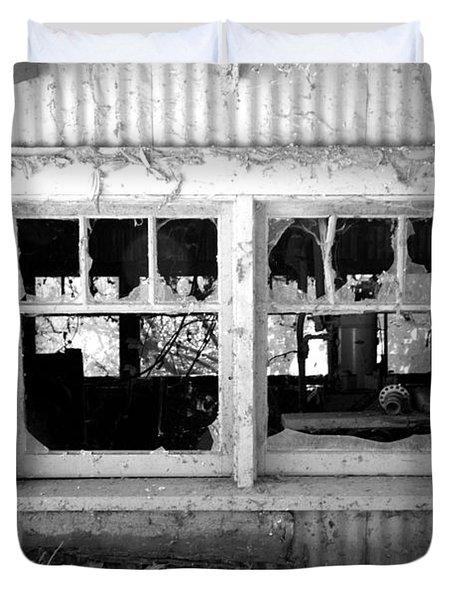 Broken Windows Duvet Cover by Cheryl Young