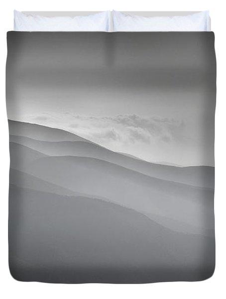 BRUMAS AEREAS Duvet Cover by Guido Montanes Castillo